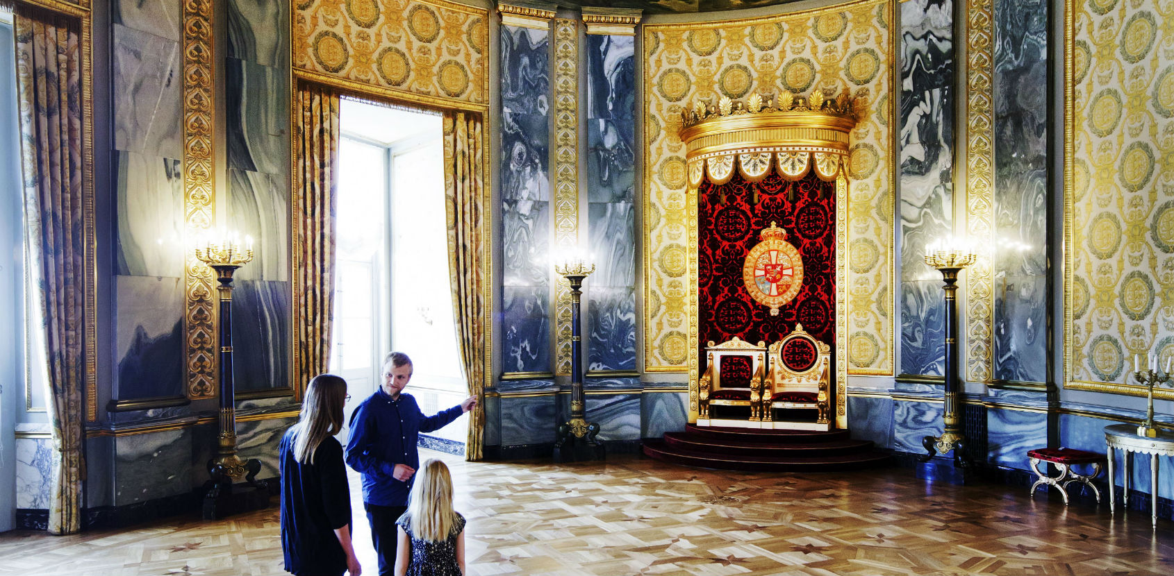 The Throne Room Christiansborg Palace photo Thorkild Jensen
