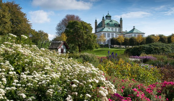 Fredensborg Slot og Slotshave. Foto: Thomas Rahbek