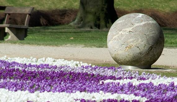 Krokustæppe, Kongens Have. Foto: Styrelsen for Slotte og Kulturejendomme