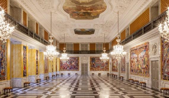 Riddersalen på Christiansborg Slot. Foto: Mikkel Grønlund
