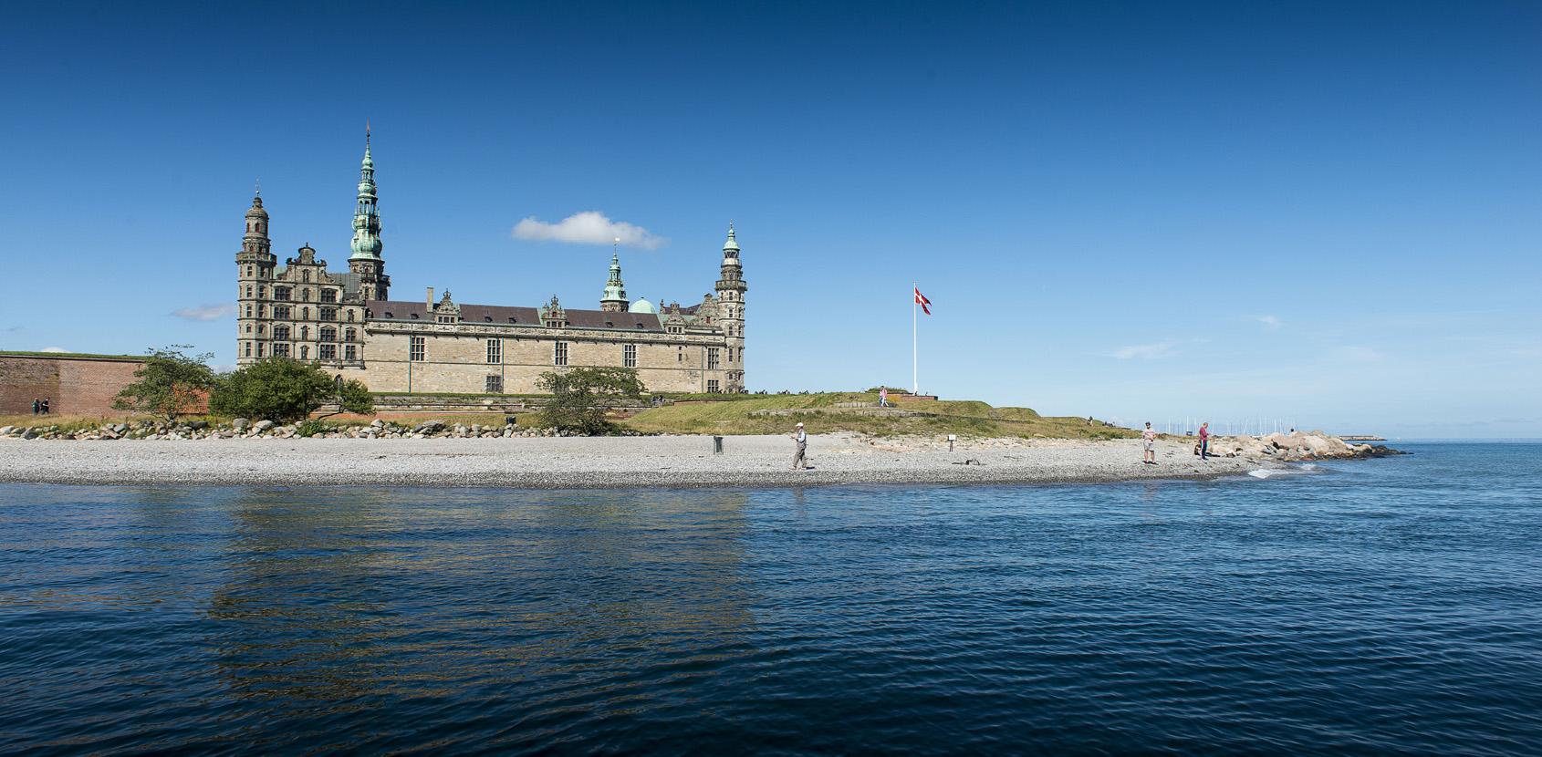 Kronborg Slot er en funkende juvel i kongens kiste. Foto: Thomas Rahbek