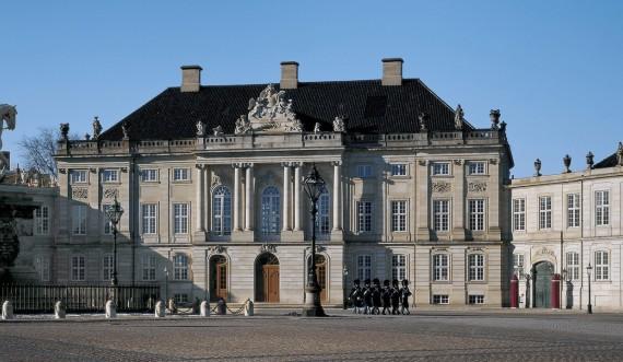 Amalienborg Slot. Foto: Roberto Fortuna