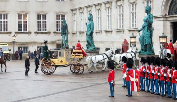 Nytårskur på Christiansborg Slot foto Thorkild Jensen