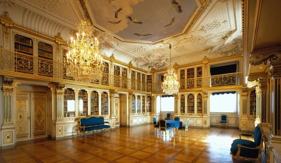 Dronningens Håndbibliotek. Foto: Finn Christoffersen