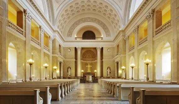 Christiansborg Palace Chapel photo: Thorkild Jensen