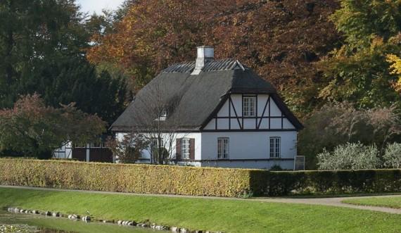 Café Havehuset i Frederiksborg Slotshave. Foto: Thomas Rahbek, SLKE