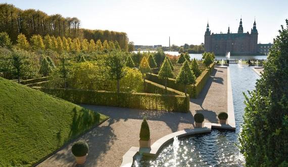 Omvisning i Frederiksborg Slotshave. Foto: Thomas Rahbek, SLKE