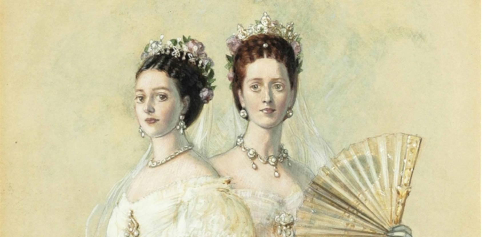 Dagmar og Alexandra af Franz-Xaver Winterhalter 1868