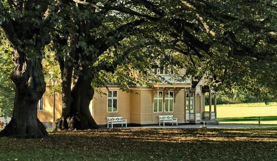 Svenske Villa i Bernstorff Slotshave. Foto: Finn Christoffersen