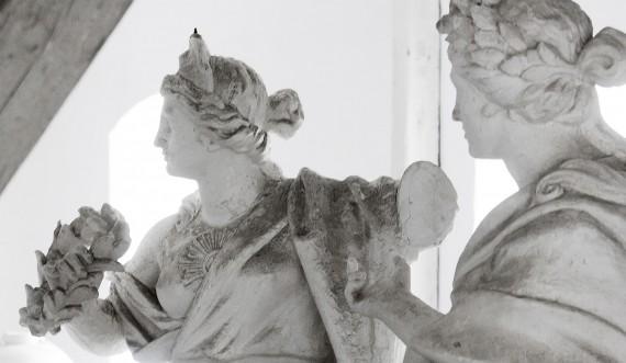 I Kongernes Lapidarium står verdens smukkeste kvinder. Foto: Thorkild Jensen