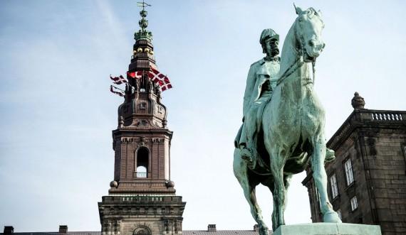 Christiansborg rytterstaue af Christians 9. foto Thomas Rahbek SLKE