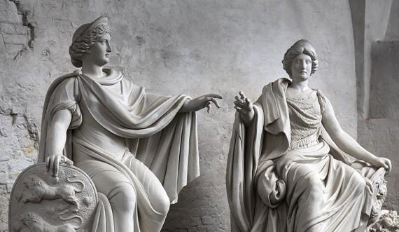 Kongernes skulpturer kan opleves i kongernes Lapidarium