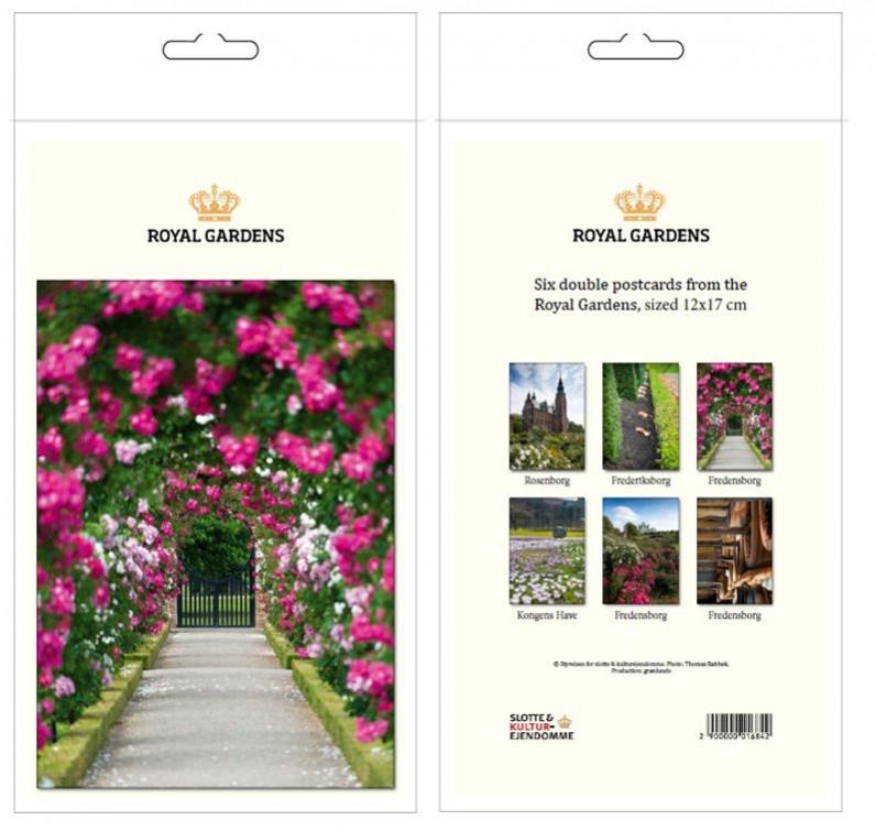 postkortpakke royal garden
