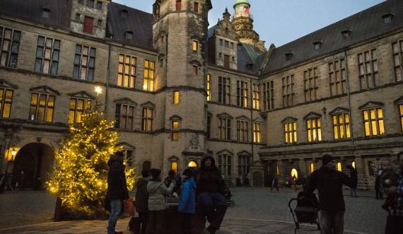 Jul på Kronborg. Foto: Thomas Rahbek, SLKS