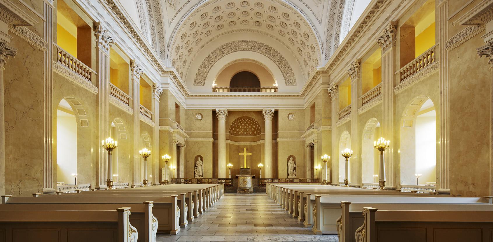 Bestil gruppeomvisning i Christiansborg Slotskirke