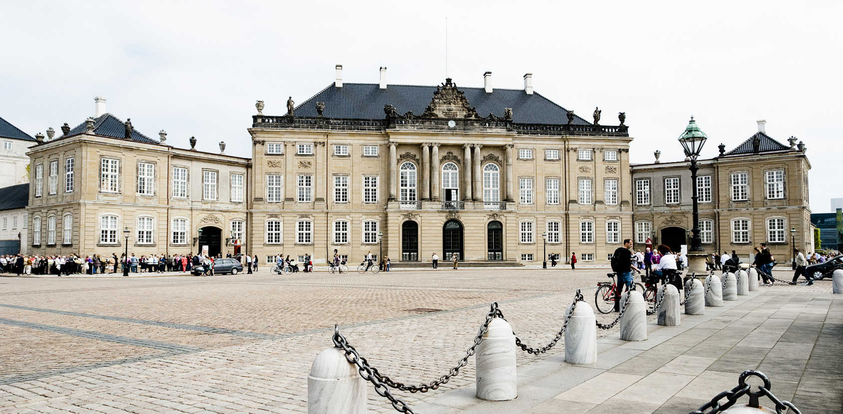 The palace houses the museum, The Royal Danish Collection - Amalienborg, which is the museum of the Danish Royal Family