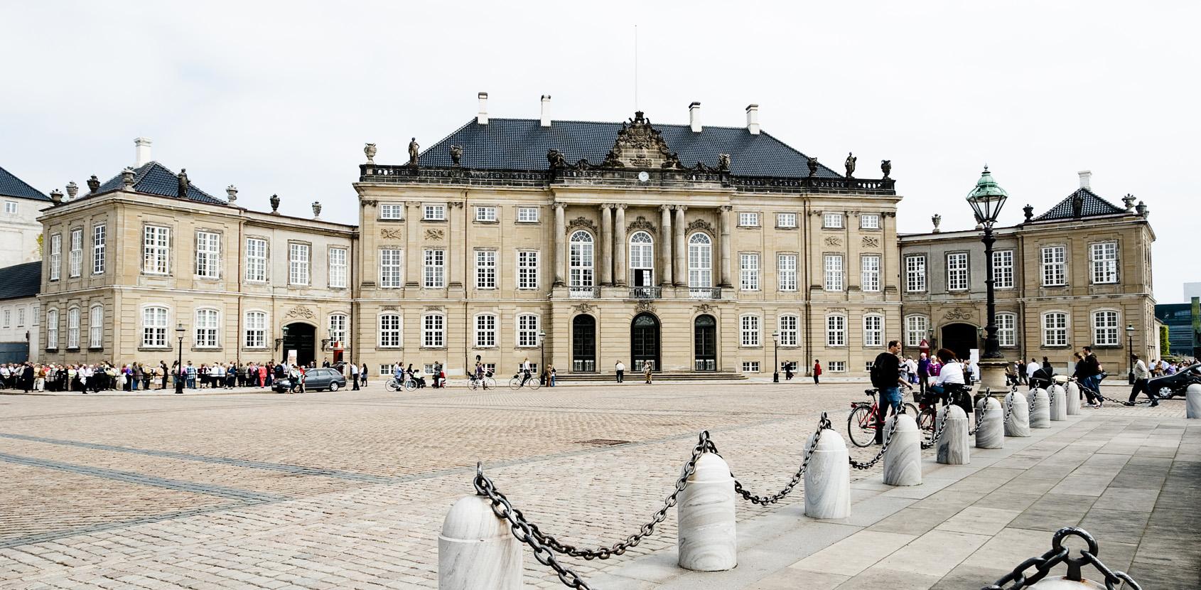 Palæet indeholder blandt andet museet Kongernes Samling - Amalienborg, som er den danske kongefamilies museum.
