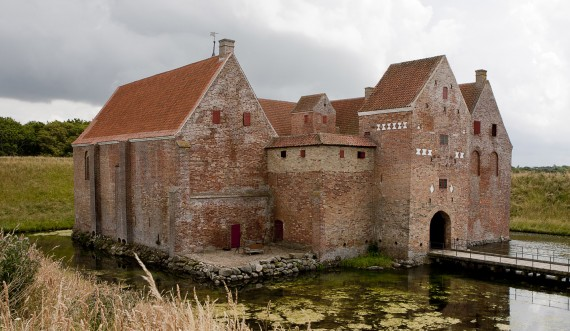 Spøttrup Middelalderborg. Foto: Styrelsen for Slot og Kulturejendomme