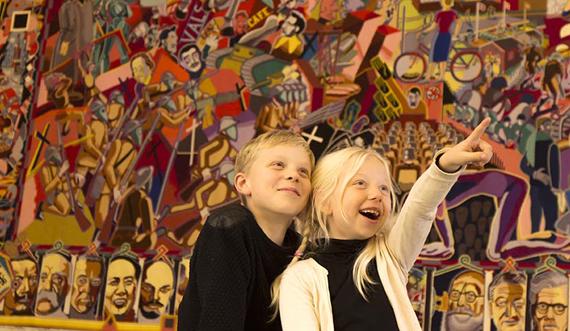 Børn i Riddersalen, Christiansborg Slot_Foto Thorkild Jensen-570