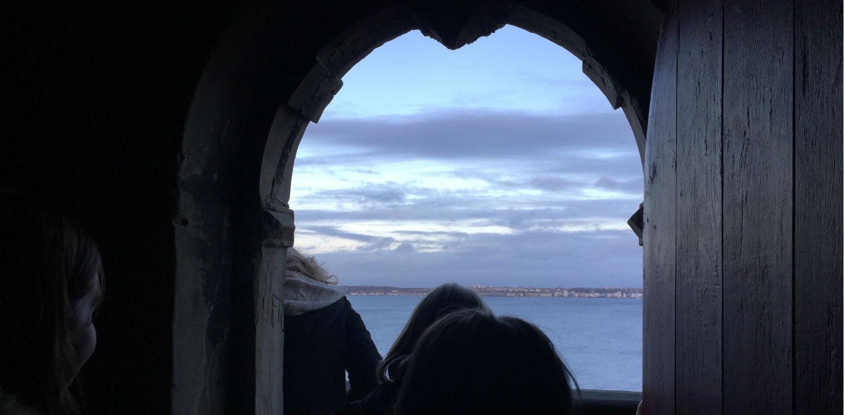 Tårnværelse på Kronborg Slot foto: Amalie Vorting