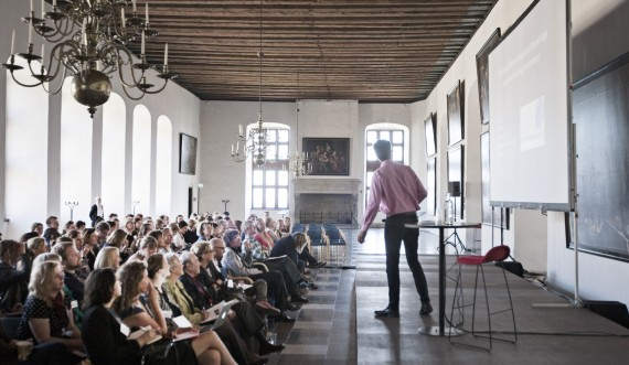 Konference på Kronborg Slot. Foto: Jon Norddahl