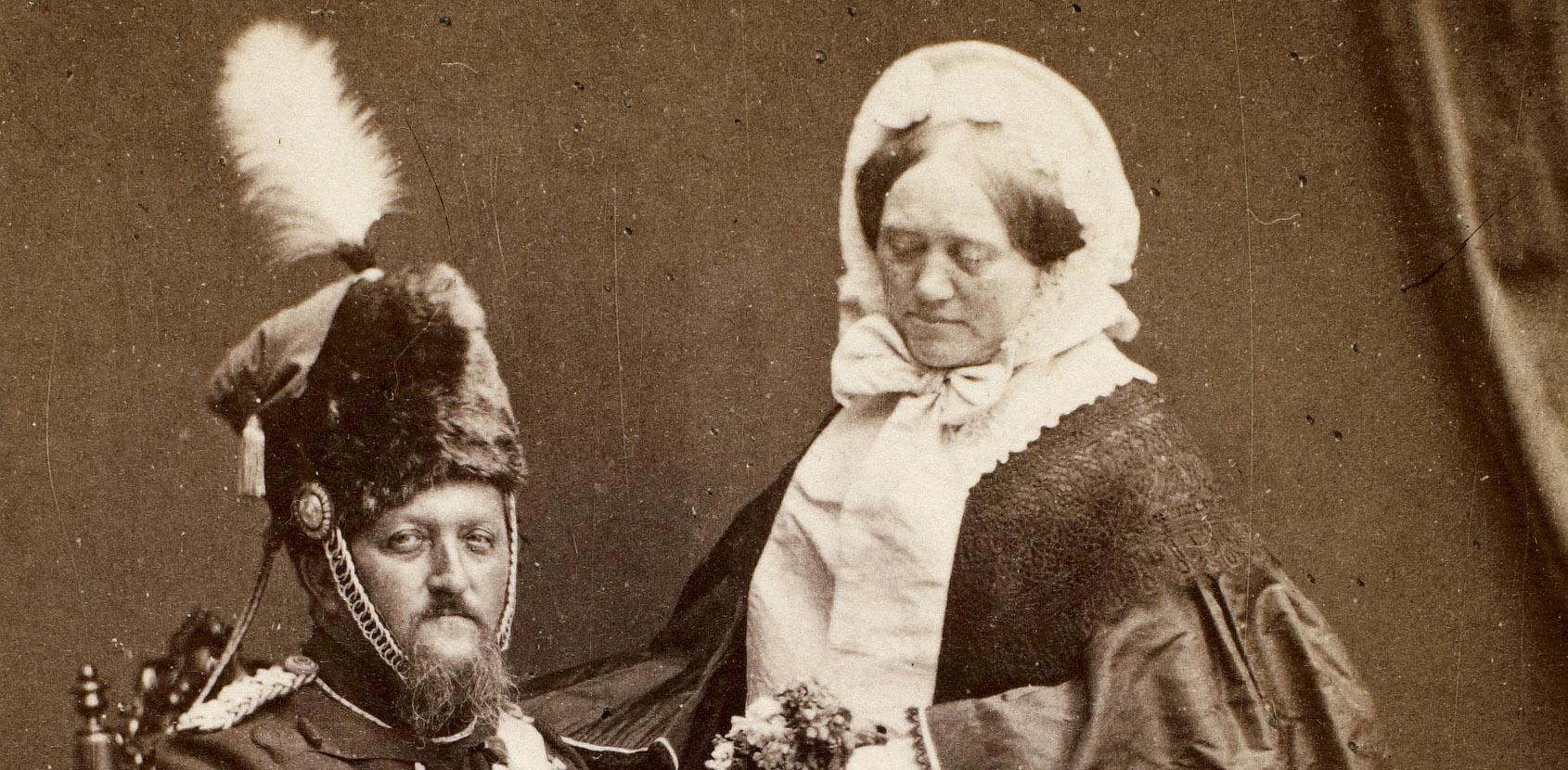 Grevinde Danner. Foto: Det Kongelige Bibliotek