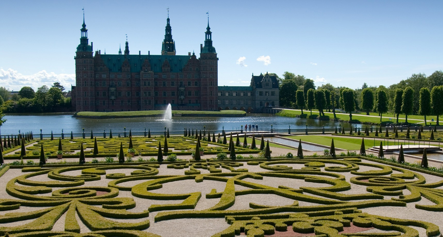Fredensborg Slot. Foto: Thomas Rahbek, Styrelsen for Slotte og Kulturejendomme