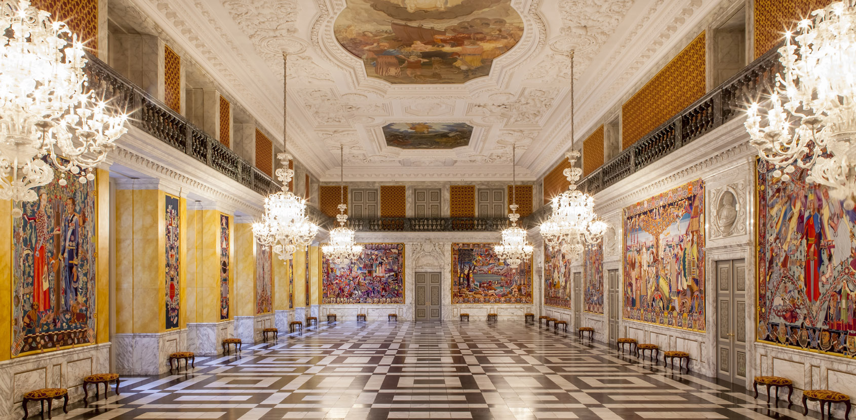 The Great Hall at Christiansborg Palace photo Mikkel Grønlund
