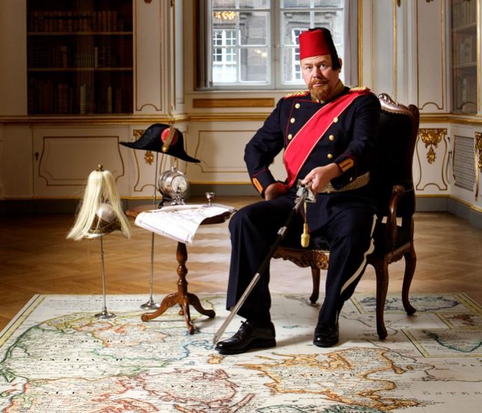 Den Folkekære Konge Christianborg Slot foto: Thorkild Jensen