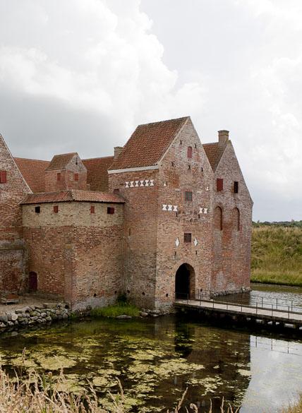 Spøttrup Borg. Foto: Styrelsen for Slotte og Kulturejendomme