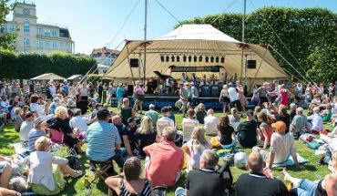 Jazzfestival i Kongens Have foto: Thomas Rahbek SLKS