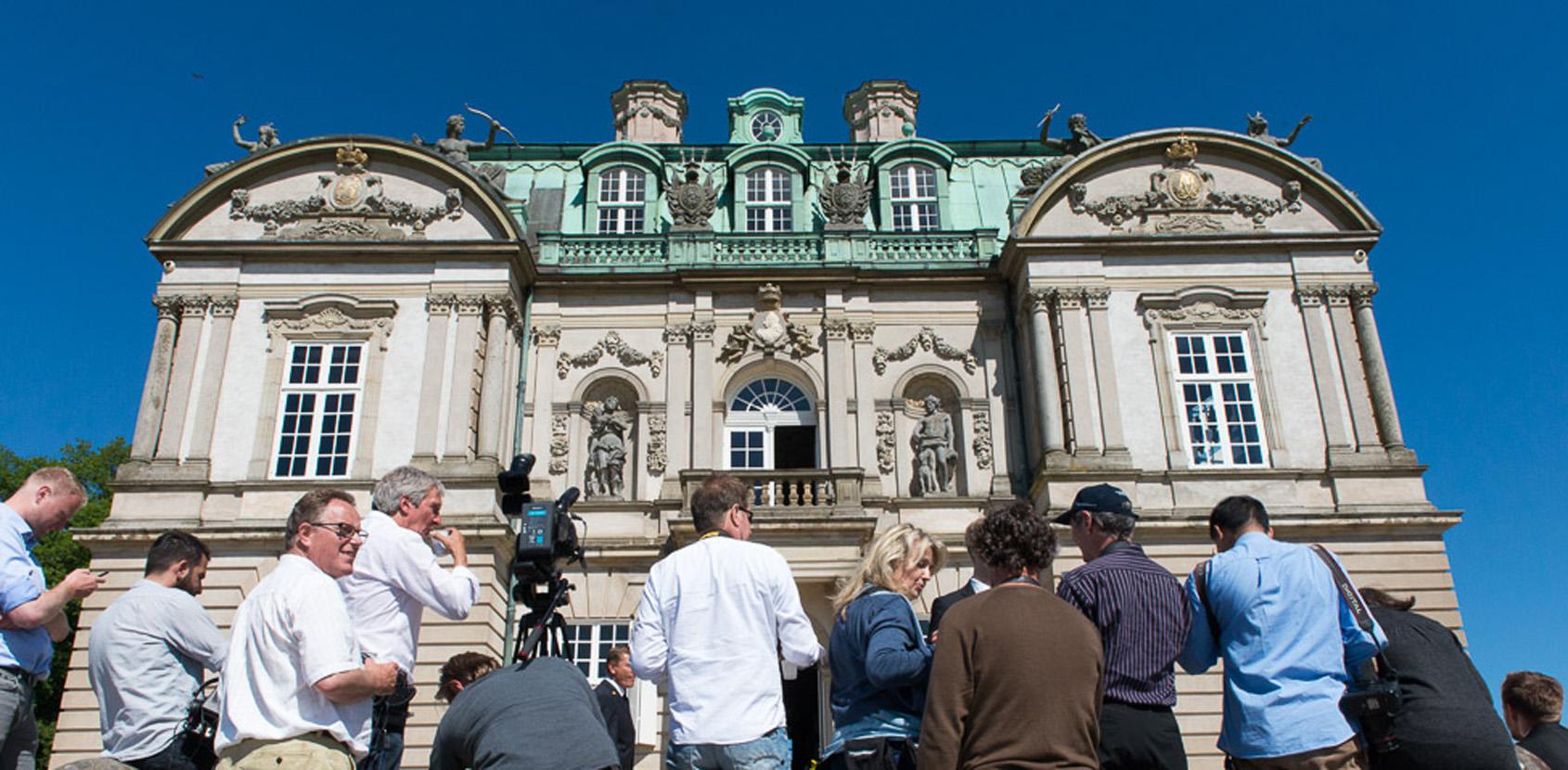 De kongelige slothaver er en eventyrlig scene til shoots. Foto: Thomas Rahbek, SLKE