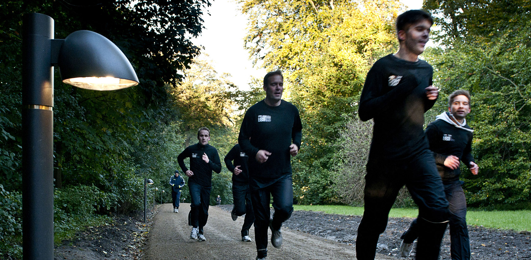 Sportsarrangementer i de kongelige slotshaver. Foto: Thomas Rahbek, SLKE