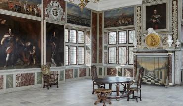 Audienssalen på Frederiksborg Slot foto Det Nationalhistoriske Museum på Frederiksborg Slot