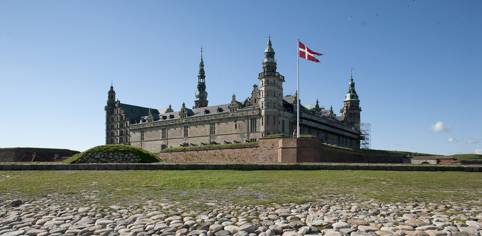 Accessibility at Kronborg Castle. Photo: Thomas Rahbek