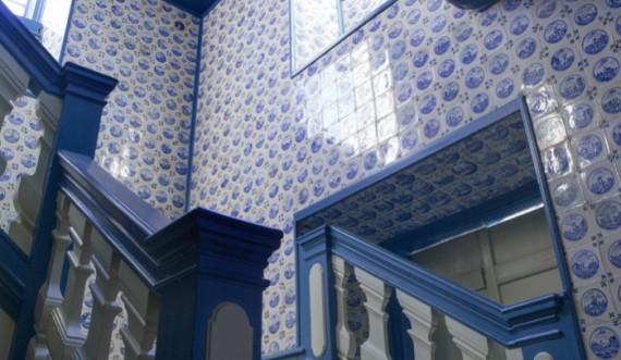 Trappe med fliser, Eremitageslottet Foto: Roberto Fortuna