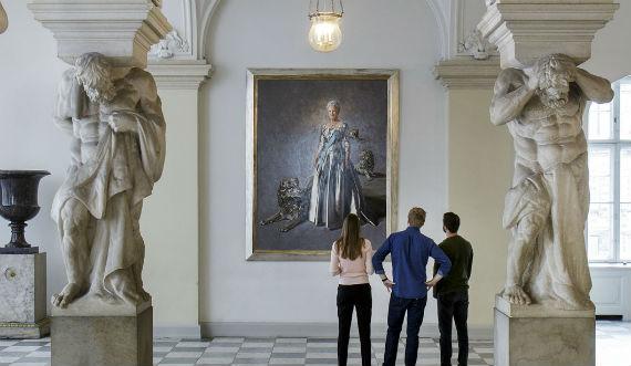 Dronningens Christiansborg foto Thorkild Jensen 570x331