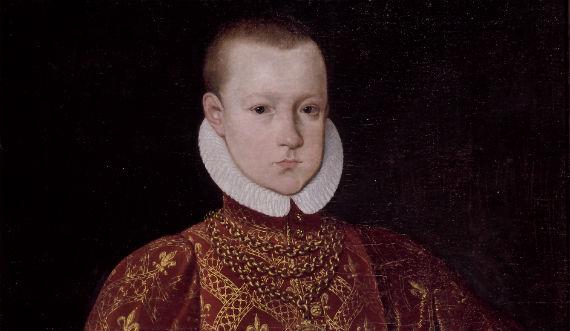Christian 4. som barn Foto Kongernes Samlig Rosenborg