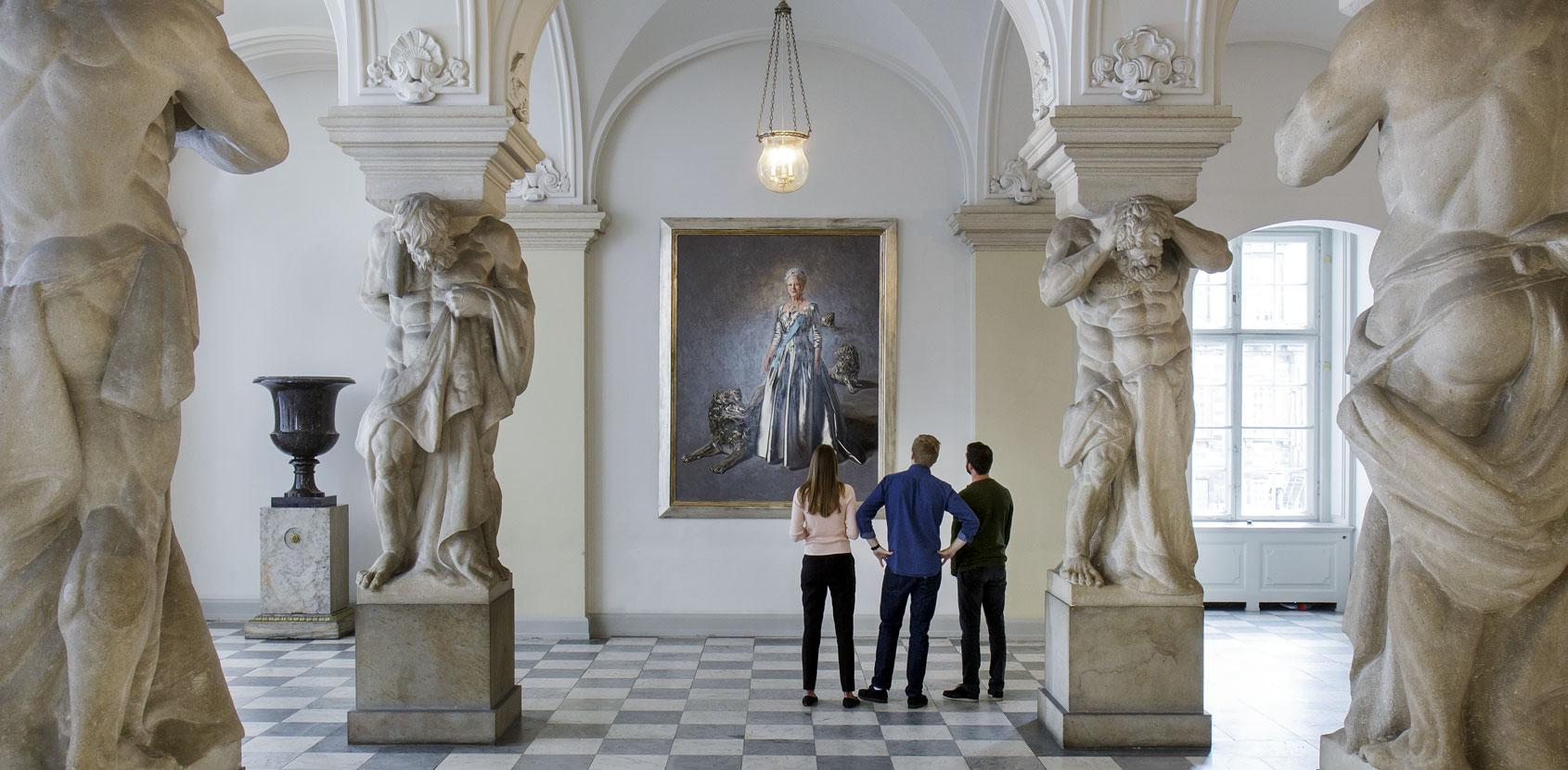 Dronningens Christiansborg foto Thorkild Jensen