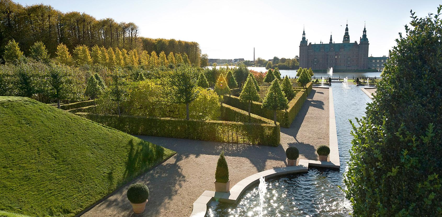 Frederiksborg Slotshave. Foto: Thomas Rahbek, SLKE