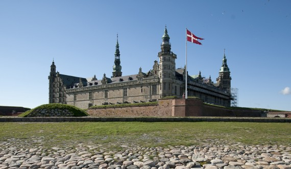 Kronborg Castle seen from the seaside. Photo: Thomas Rahbek