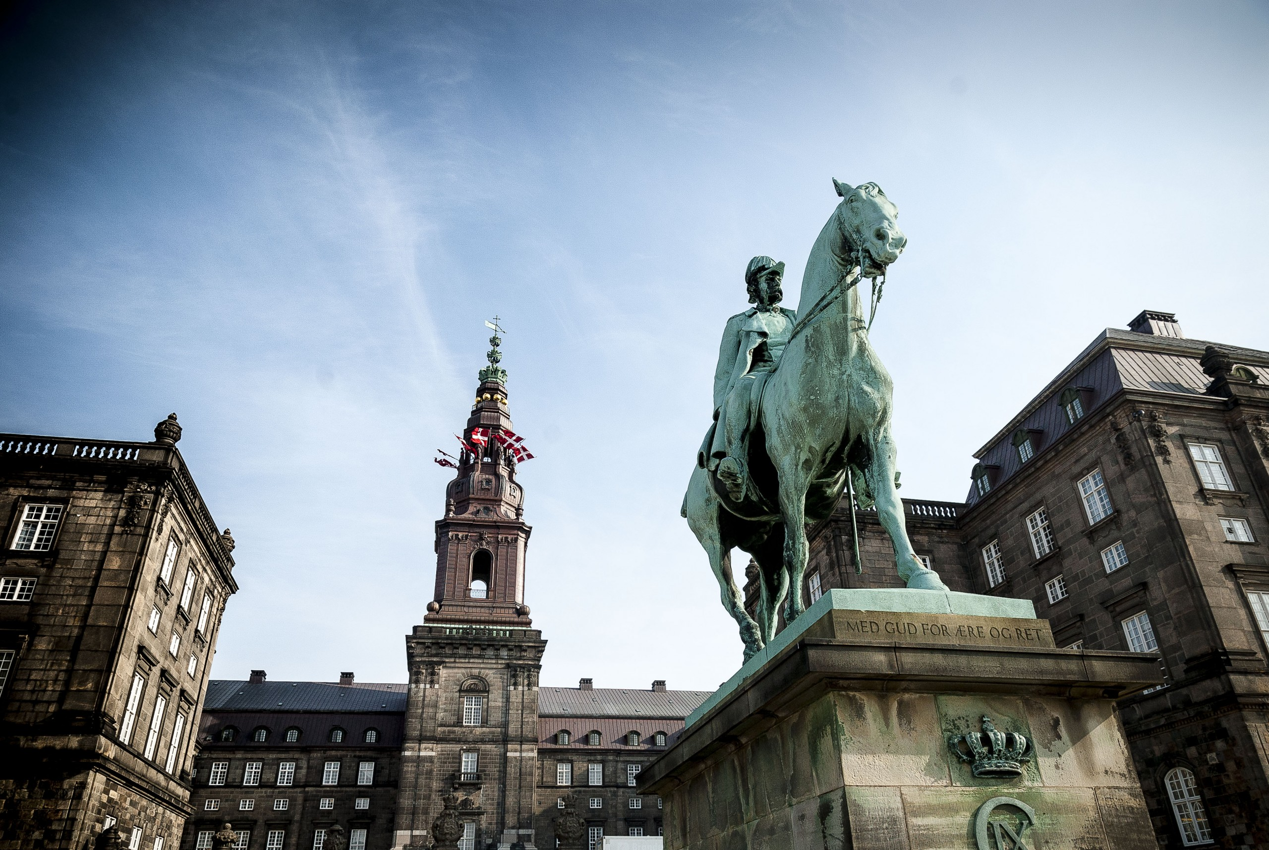 Christiansborg Slot Christian 9. foto Thomas Rahbek