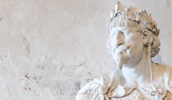 Francois Dieussart skabte busten af Christian 4. i 1643.