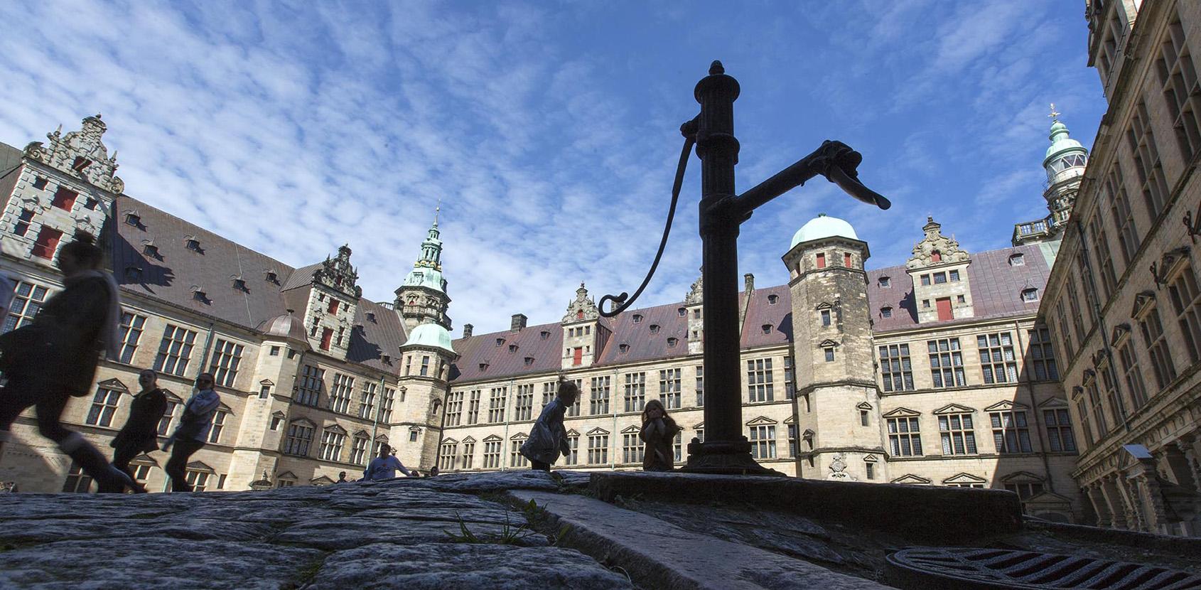 Slotsgården på Kronborg Slot. Foto: Thorkild Jensen