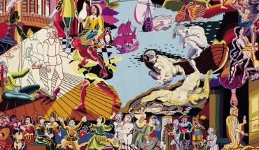 1100 års danmarkshistorie på en væv