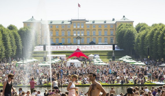 Events in the Royal Palace Gardens