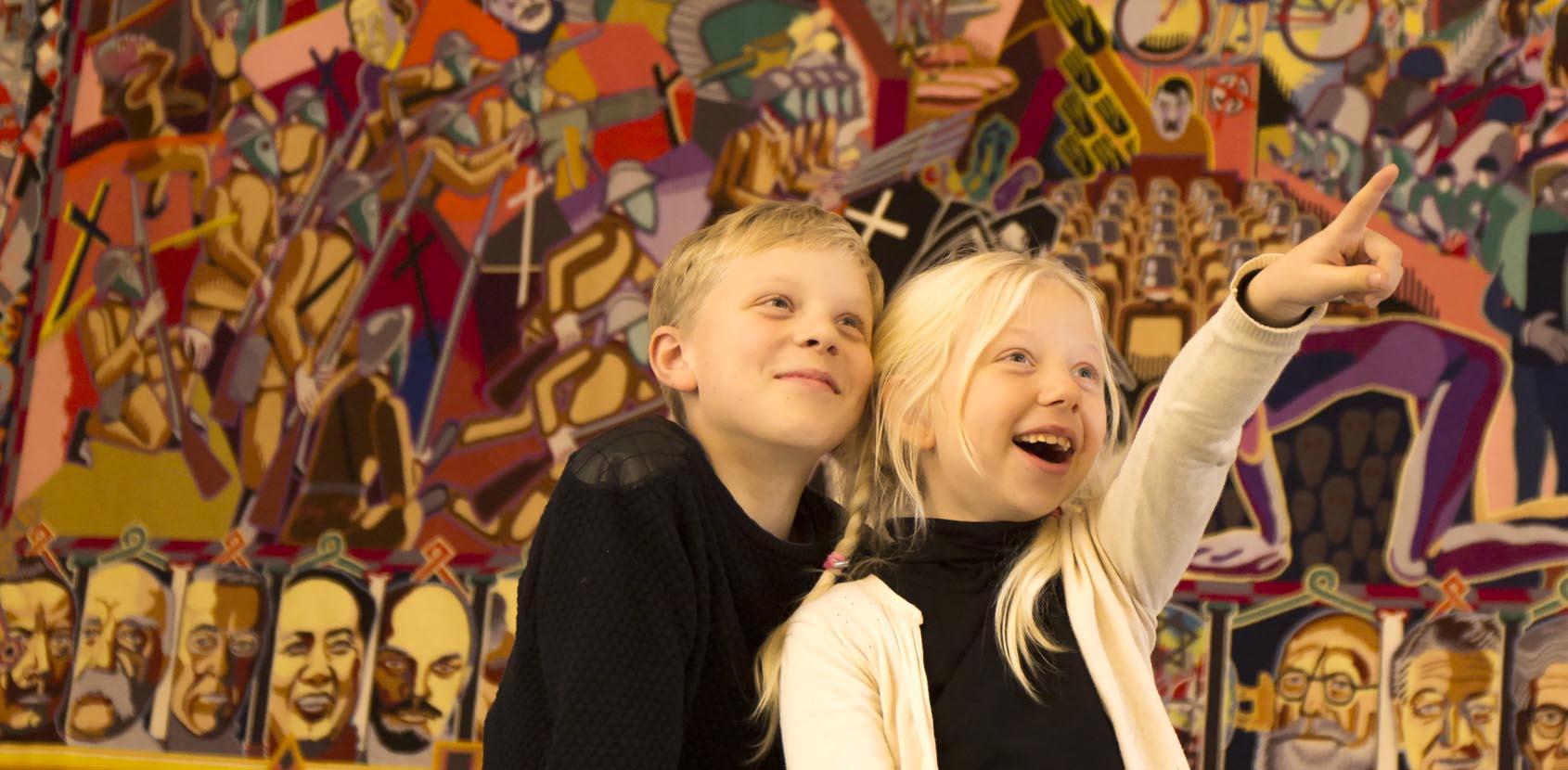 Børn i Riddersalen-Christiansborg Slot_Thorkild Jensen