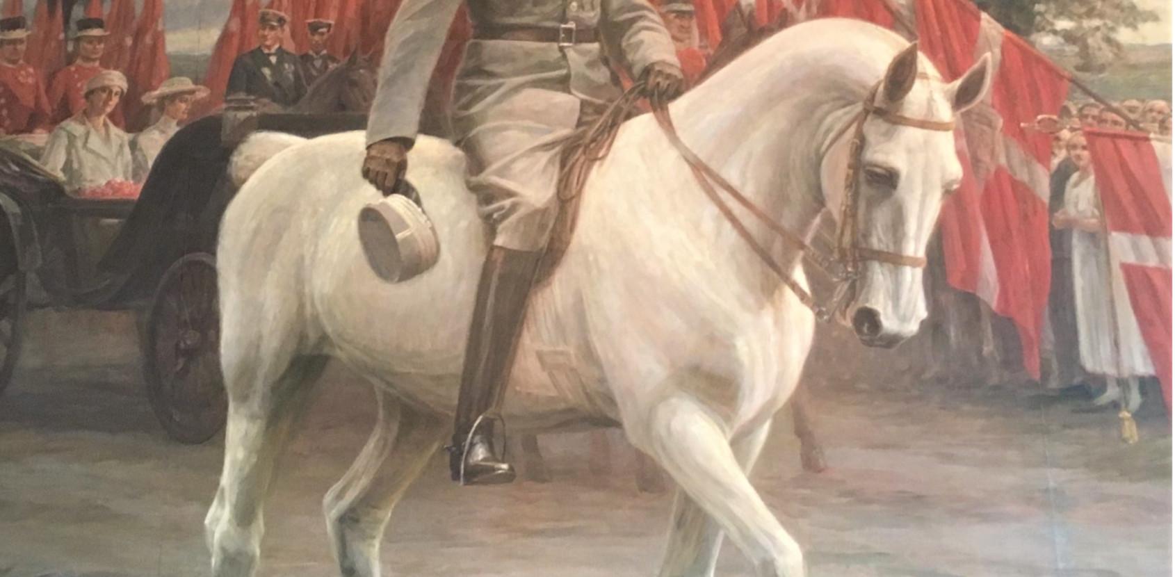 Hvorfor skulle hesten være hvid?
