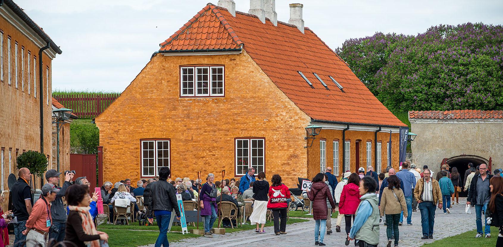Café Krone i Gallerierne ved Kronborg Slot. Foto: Thomas Rahbek