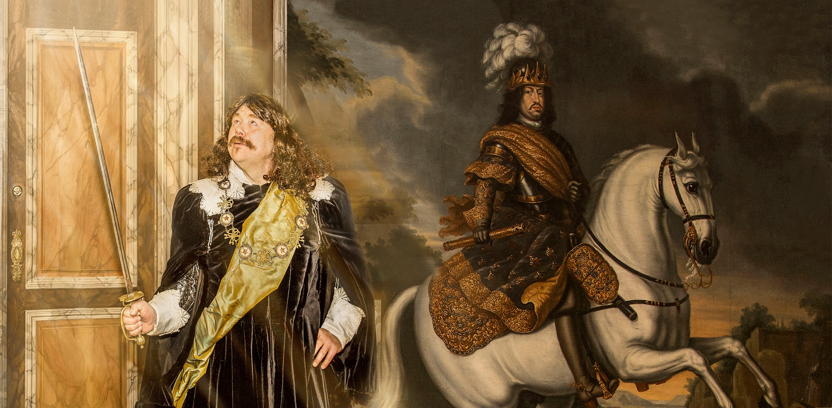 Mød Frederik 3. på Christianborg Slot i vinterferien